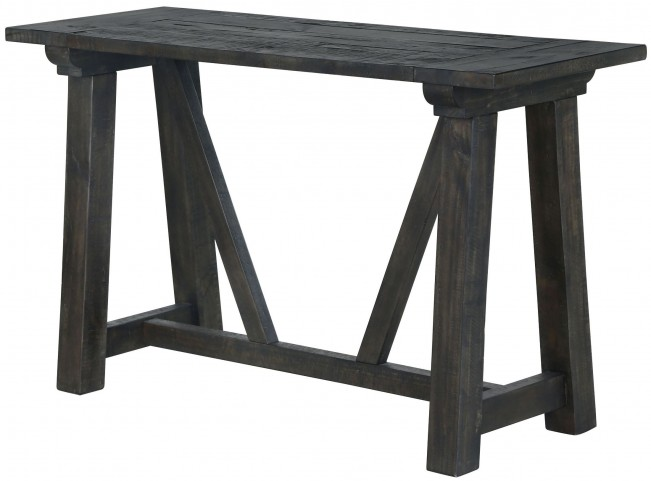 Bridgewater Weathered Charcoal Rectangular Sofa Table