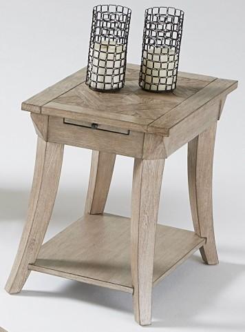 Appeal ll Dark Poplar Chairside Table