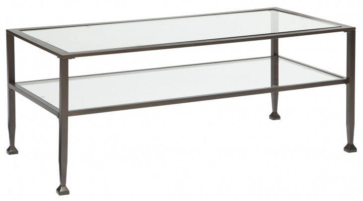 Tivion Blacks Rectangular Cocktail Table