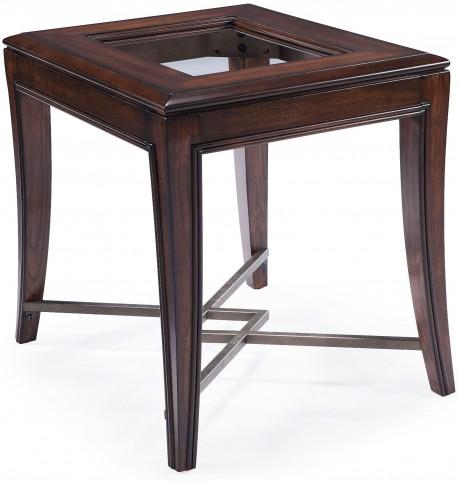 Acclaim Chestnut Wood Rectangular End Table