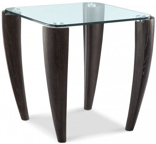 Ebony Midnight Rectangular End Table