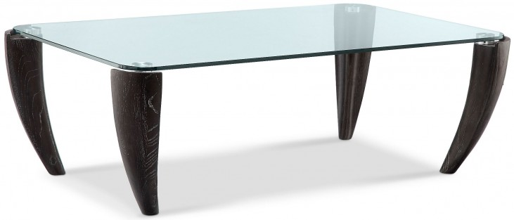 Ebony Midnight Rectangular Cocktail Table