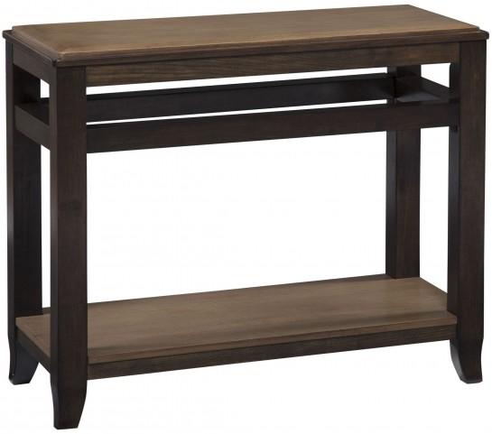 Mandoro Two-tone Brown Sofa Table
