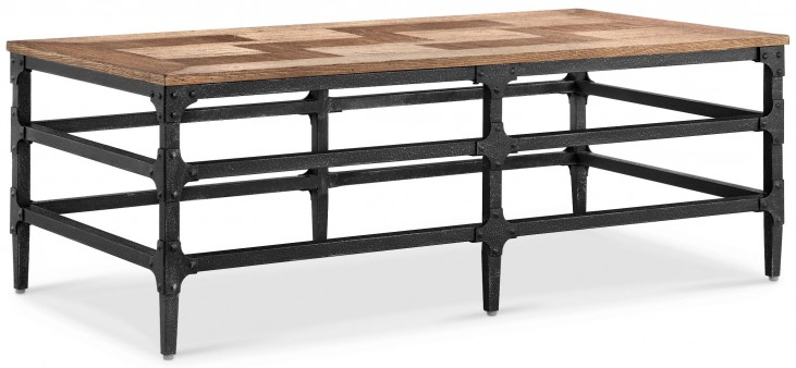 Dylan Light Umber Rectangular Cocktail Table