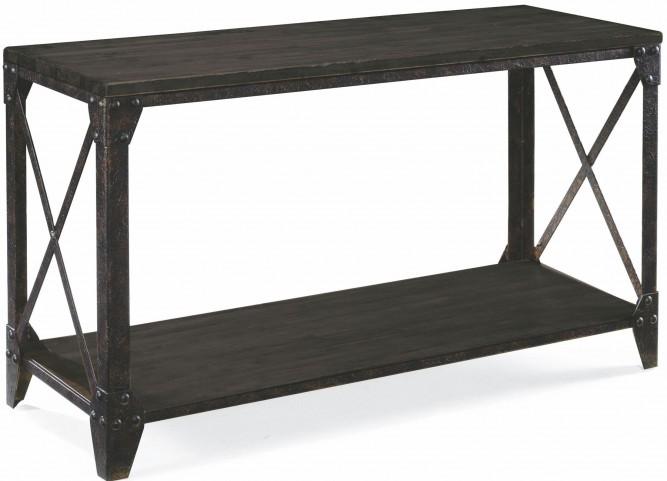 Milford Weathered Charcoal And Gunmetal Rectangular Sofa Table