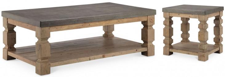 O'Brian Espresso Rectangular Occasional Table Set