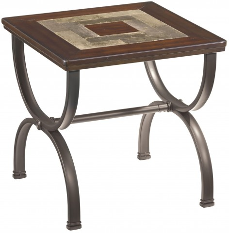 Zander Square End Table