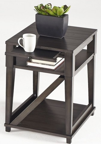 Consort Midnight Chairside Table