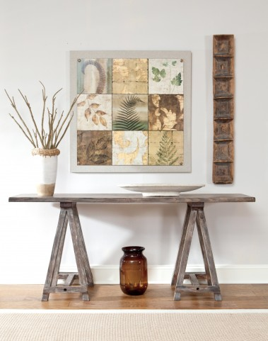 Rustic Accents Burnished Natural Console