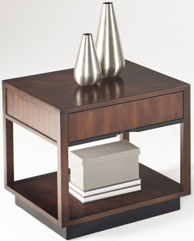 Sophisticate Prima Vera Square Lamp Table