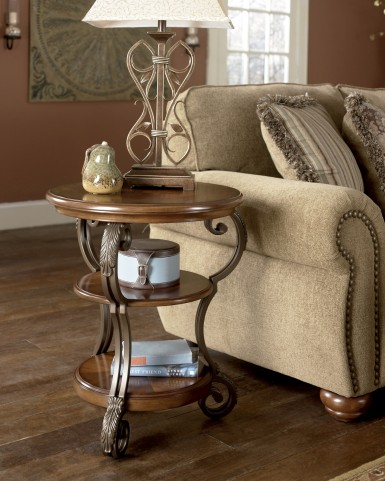 Nestor Round Chairside End Table