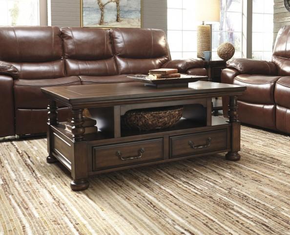 Brosana Brown Occasional Table Set