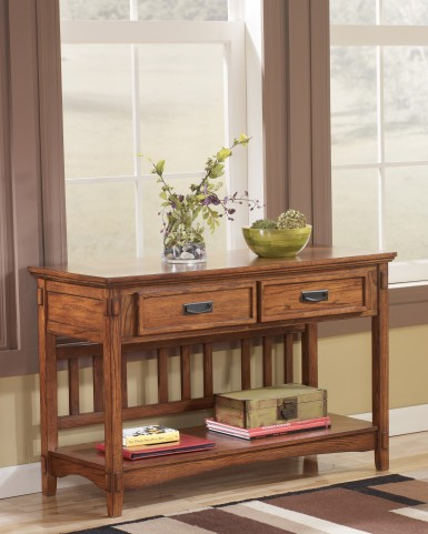 Cross Island Console Sofa Table