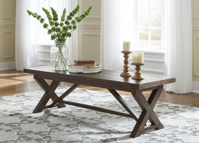 Windville Dark Brown Occasional Table Set