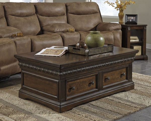 Lamonte Brown Occasional Table Set