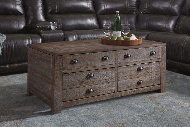 Keeblen Grayish Brown Occasional Table Set