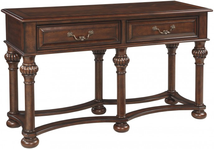 Beisterfield Brown Sofa Table