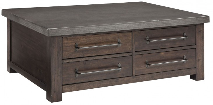 Starmore Brown Storage Cocktail Table