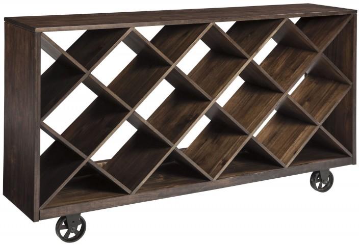 Starmore Brown Shelf Console Table