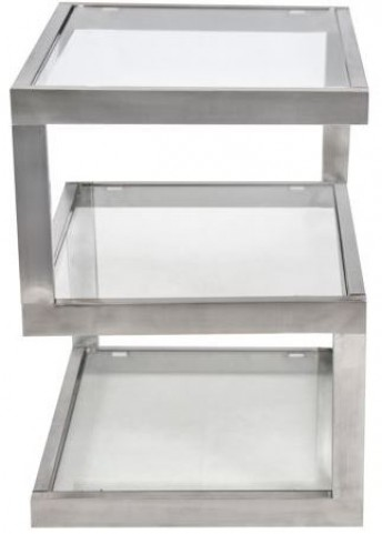 5s Clear Side Table