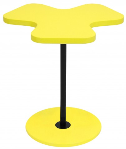 Clover Yellow Side Table