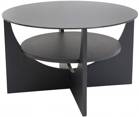 U Shaped Wenge Coffee Table