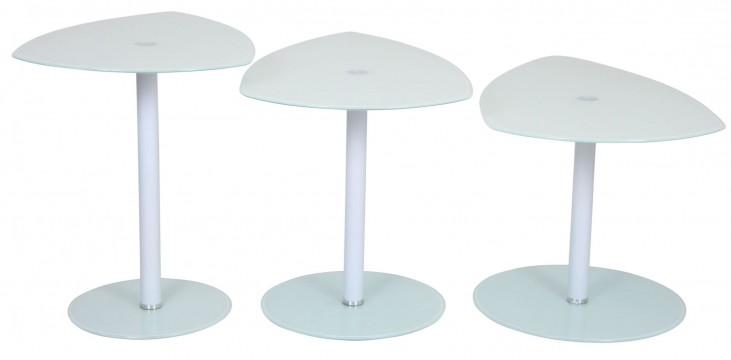 Pix White Nesting Tables