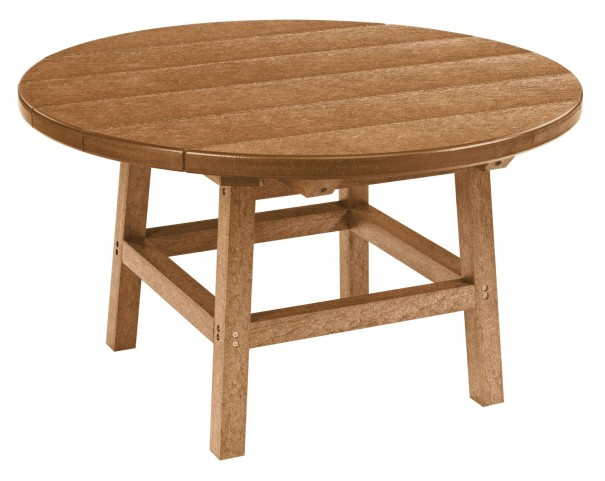 "Generations Cedar 32"" Round Leg Cocktail Table"