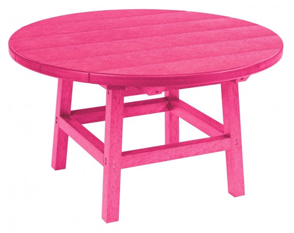 "Generations Fuschia 32"" Round Leg Cocktail Table"