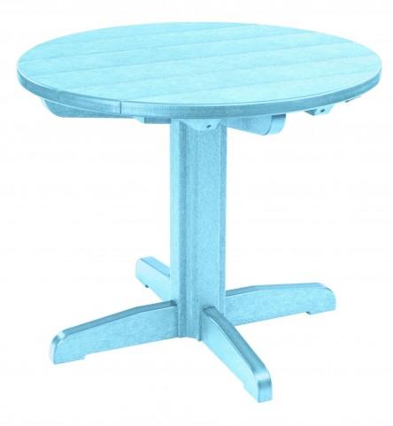 "Generations Aqua 32"" Round Pedestal Dining Table"