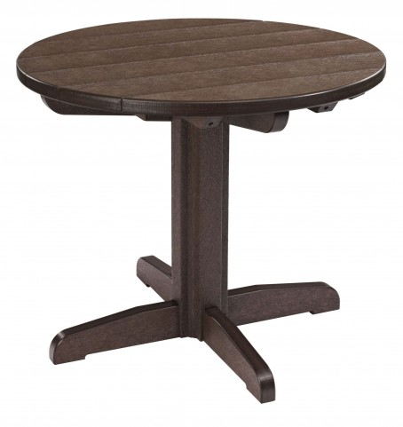 "Generations Chocolate 32"" Round Pedestal Dining Table"