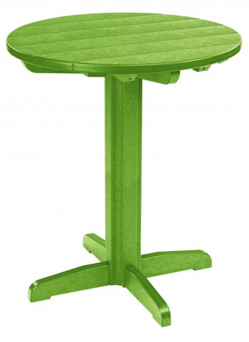 "Generations Kiwi 32"" Round Pub Height Pedestal Table"