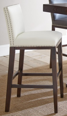 Tiffany White Bar Chair Set of 2