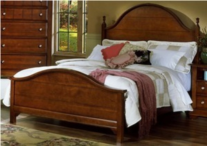 The Cottage Collection Cherry Panel Bedroom Set