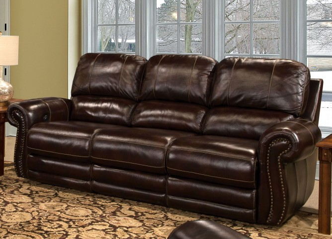 Thurston Havana Dual Power Reclining Sofa