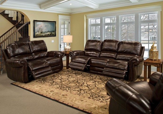 Thurston Havana Dual Power Reclining Living Room Set