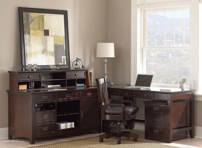Teton Merlot Home Office Set