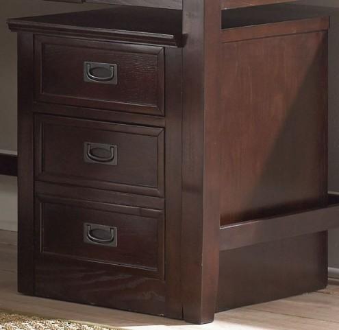 Teton Merlot File Cabinet