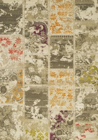 Topaz Multi Patchwork Texture Medium Rug