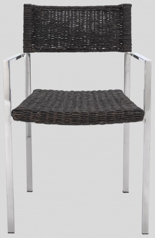 Torino Stainless Steel Dining Chair