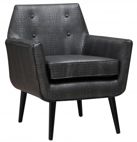 Clyde Croc Leather Chair
