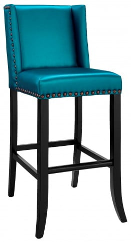Denver Blue Bar Stool