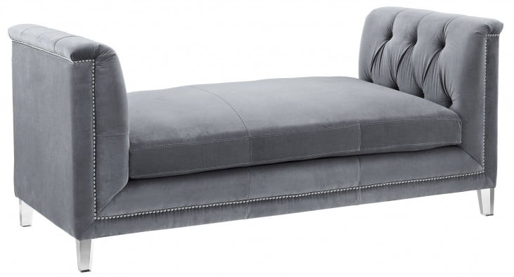 Naomi Grey Loveseat