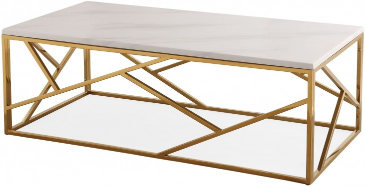 Gayle Gold Coffee Table