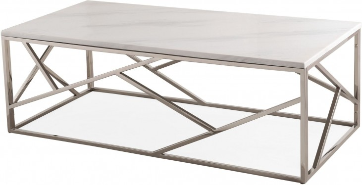 Gayle Silver Coffee Table