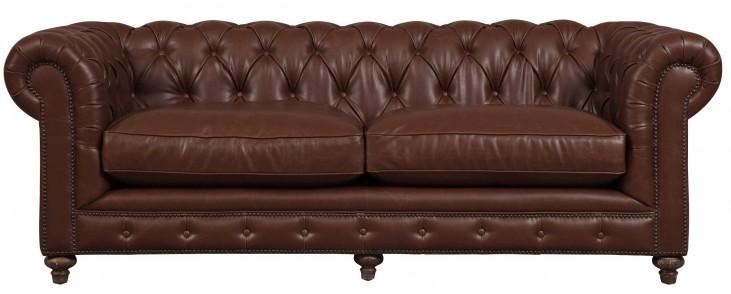 Durango Antique Brown Leather Sofa