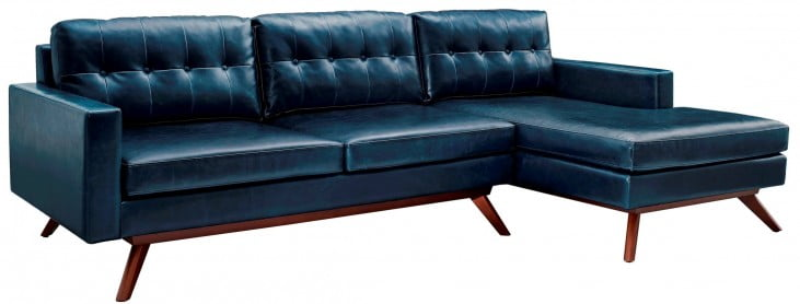 Blake Antique Blue RAF Sectional