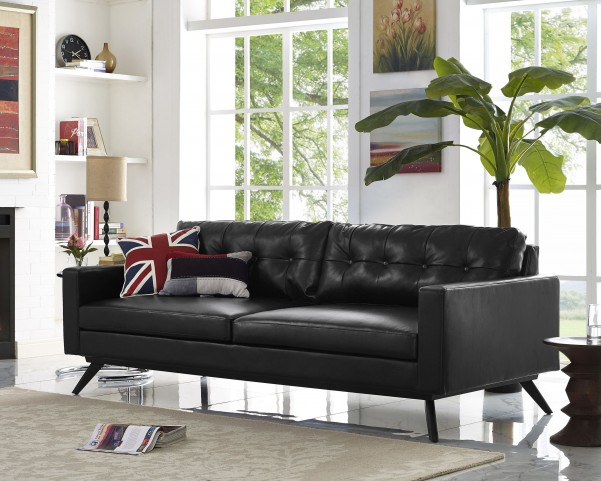 Blake Antique Black Sofa