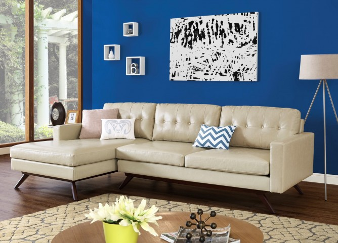 Blake Antique Beige LAF Sectional