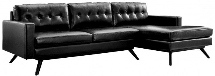 Blake Antique Black RAF Sectional